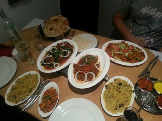 Rahman's: A selection of curries