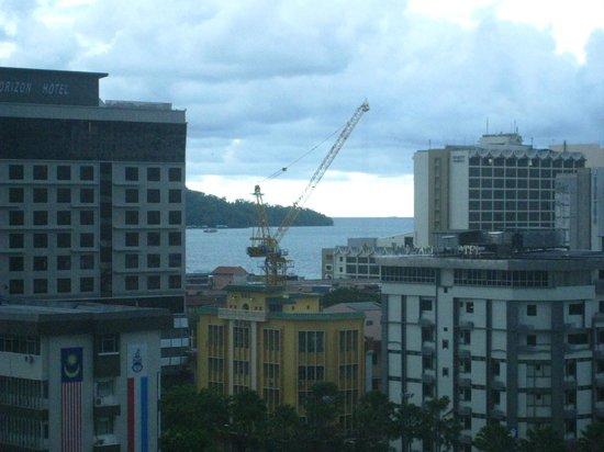 Dreamtel Kota Kinabalu: view from the window
