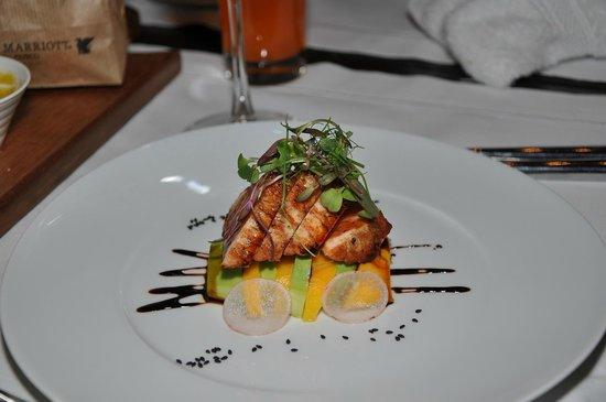 JW Marriott El Convento Cusco: Buena presentación, muy ricos platos...