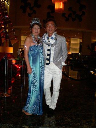 Hilton Kuala Lumpur : カウンドダウンパーティ