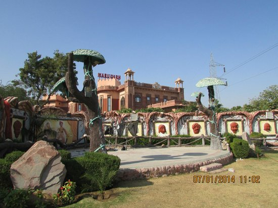 Marugarh Resort: A place to play and enjoy bask in the Sun...