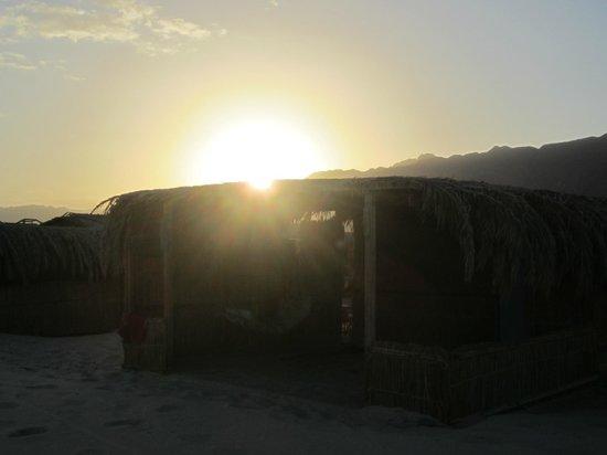 سوا كامب: Vårt hus i solnedgång