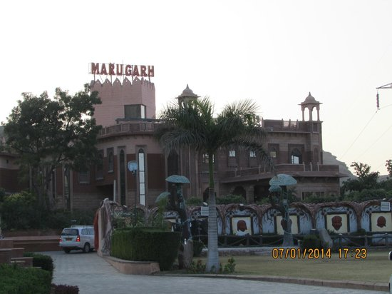 Marugarh Resort : View of the Hotel...