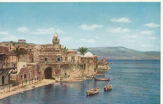 Tiberias around 1920
