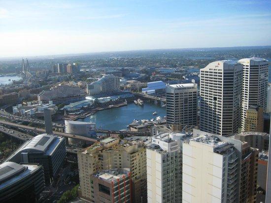 Meriton Suites Kent Street Sydney View Of Darling Harbour