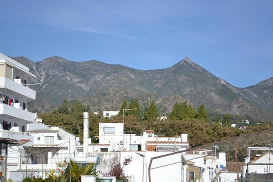 Hostal El Gallo: View from the terrace (room 6)