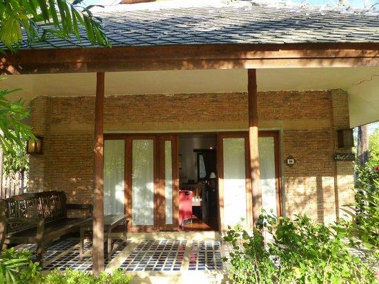 Phowadol Resort and Spa : Terrasse vor dem Zimmer