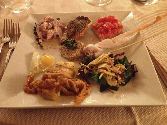 La Taverna di Vagliagli: Antipasto Misto Speciale della Casa