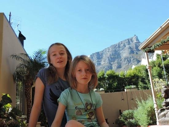 Rosedene Guest House : View from the guesthouse to Table Mountain