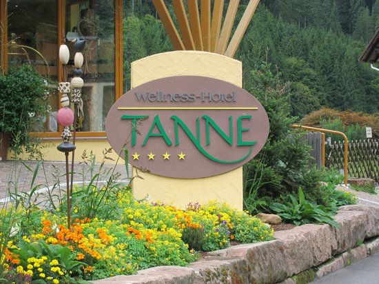 Wellnesshotel Tanne: Sign