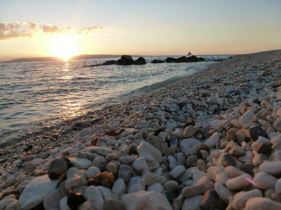 Kaliko Beach Club All-Inclusive Resort: the rocky beach