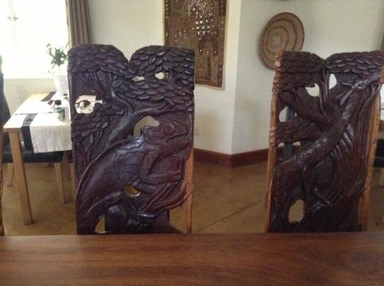 Africa House Malawi: dining chairs
