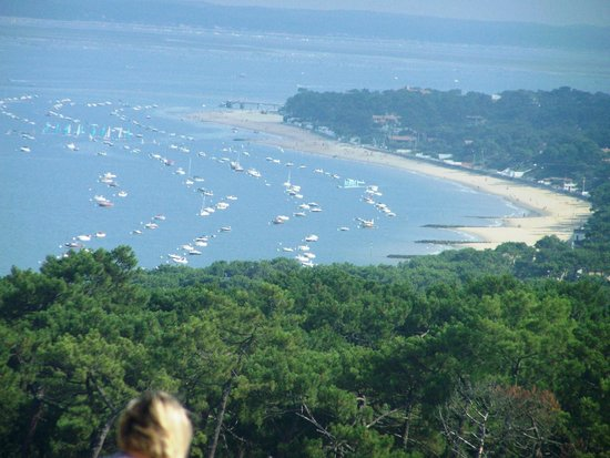 Dune du Pilat : View towards Arcachon