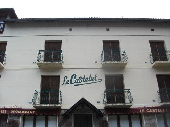 Le Castelet Hotel: fachada del hotel