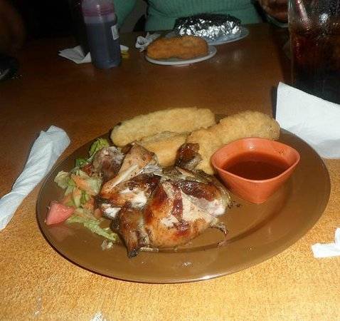 JOJO's Jerk Pit and More: Jerk Chicken Meal