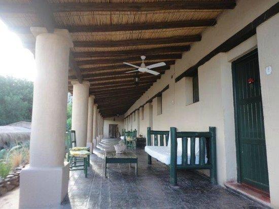 La Paya: galeria de las habitaciones