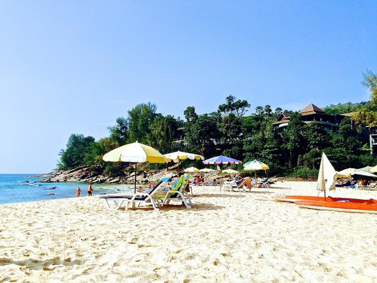 Best beach in Phuket.. right next to the hotel!