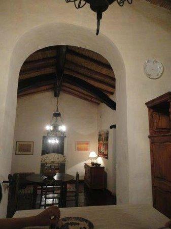 La Paya: detalle techo comedor