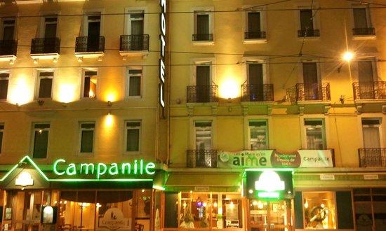 Campanile Dijon Centre - Gare: From across the road