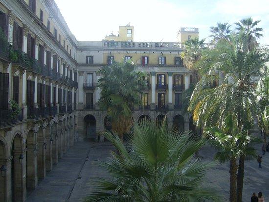 Roma Reial Hotel: Plaza Reial