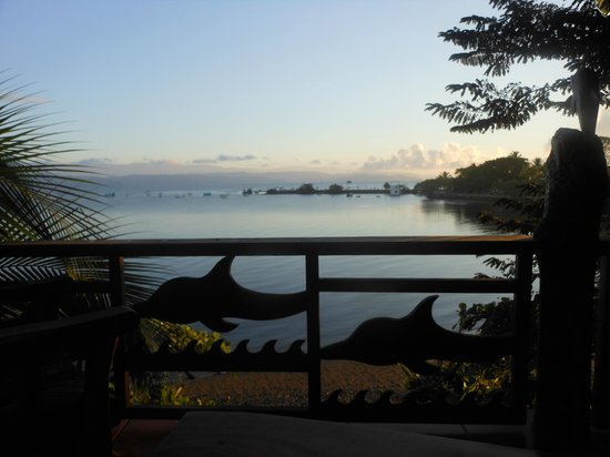 Cabinas Jimenez : loved waking up to this view every morning