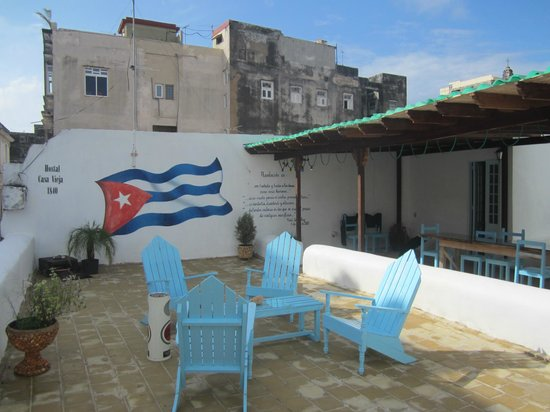 Casa Vieja 1840: Roof terrace