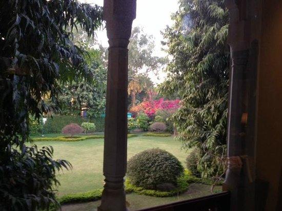 Taj SMS Hotel: 落ち着く風景