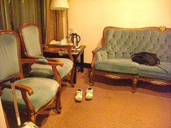 Paradise Hotel: 前室