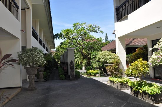 Legian Paradiso Hotel: Rooms & Entrance