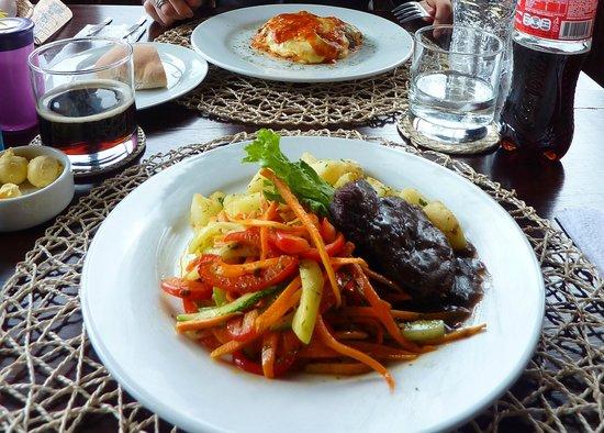 La Casa de Barro Lodge & Restaurant: uno dei meravigliosi piatti