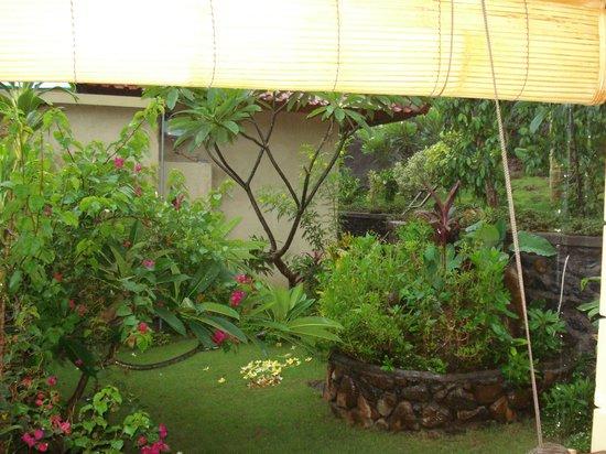 Paradise Bungalows Bali: Garten