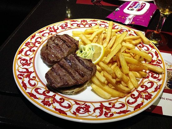 RIN Grand Hotel: Мясо