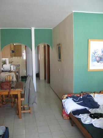 Hotel Lanza Teneguia: холл, других фото просто нет