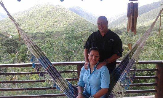 Posada Cana Fresca: En el balcón...