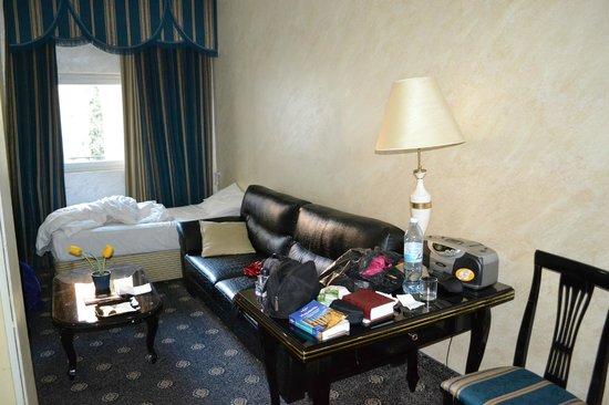Addar Hotel : гостиная в номере