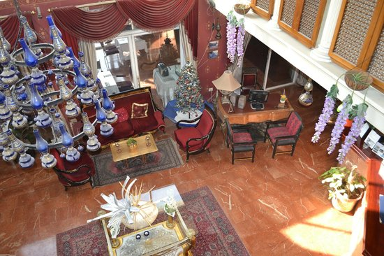 Addar Hotel: холл