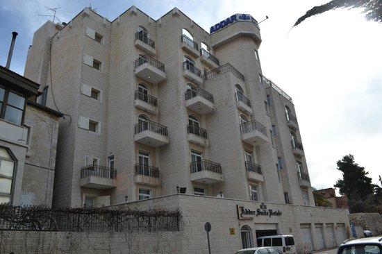 вид на Addar Hotel