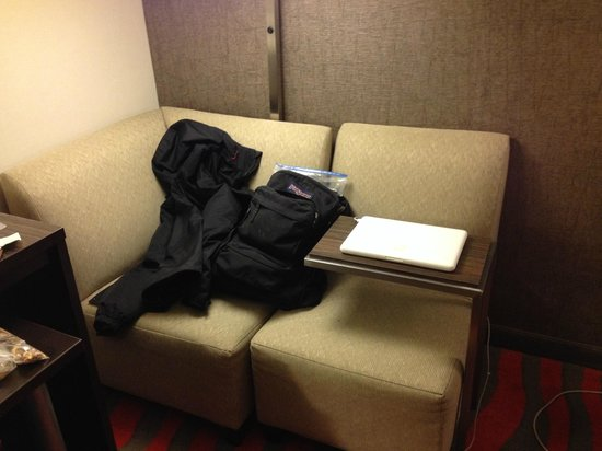 Holiday Inn Newark Airport: Small couch