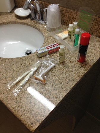 Holiday Inn Newark Airport: Toiletries by request
