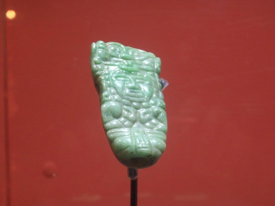 National Museum of Archaeology and Ethnology: Pieza de jade