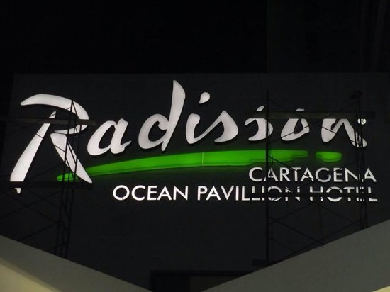 Radisson Cartagena Ocean Pavillion Hotel: Header