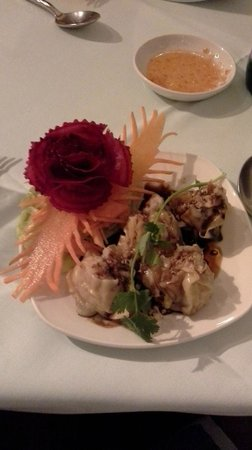 Similan Thai: Dumplings Starter