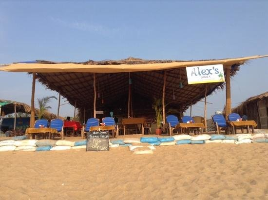 What A Shack Review Of Alex Beach Shack Candolim India Tripadvisor