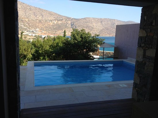 Blue Palace, a Luxury Collection Resort & Spa, Crete: vr