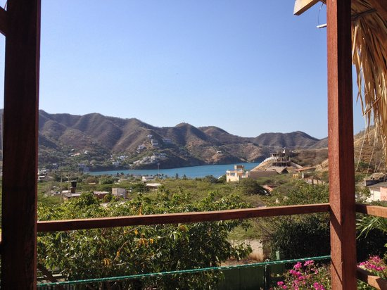 Casa Los Cerros: View from the breakfast area near the pool