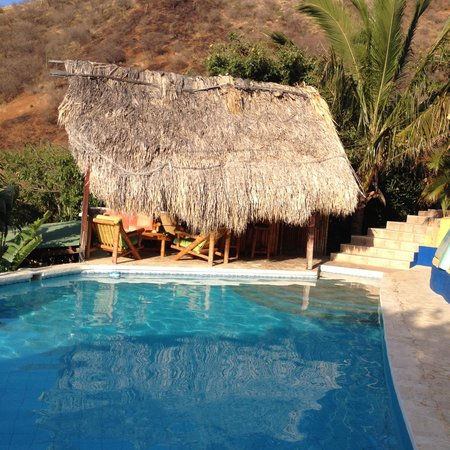 Casa Los Cerros: The pool and patin area