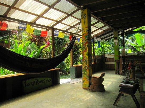 Osa Rainforest Rentals: view from inside the living area