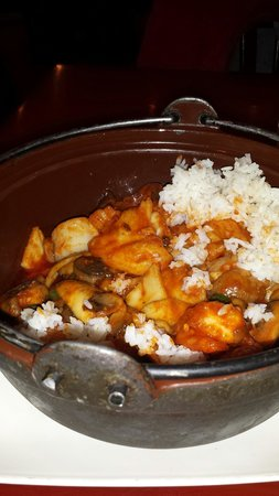 Peter Chang's China Cafe : Seafood pot yumm