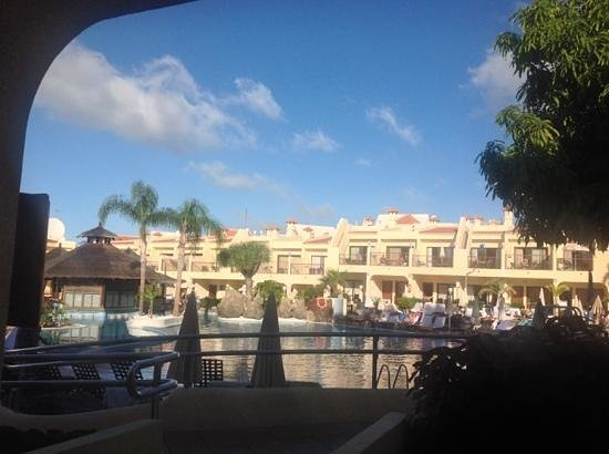 Royal Sunset Beach Club by Diamond Resorts: view from patio room 138