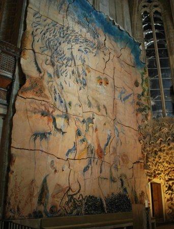 Palma Cathedral Le Seu: New Ceramic Wall Sculpture